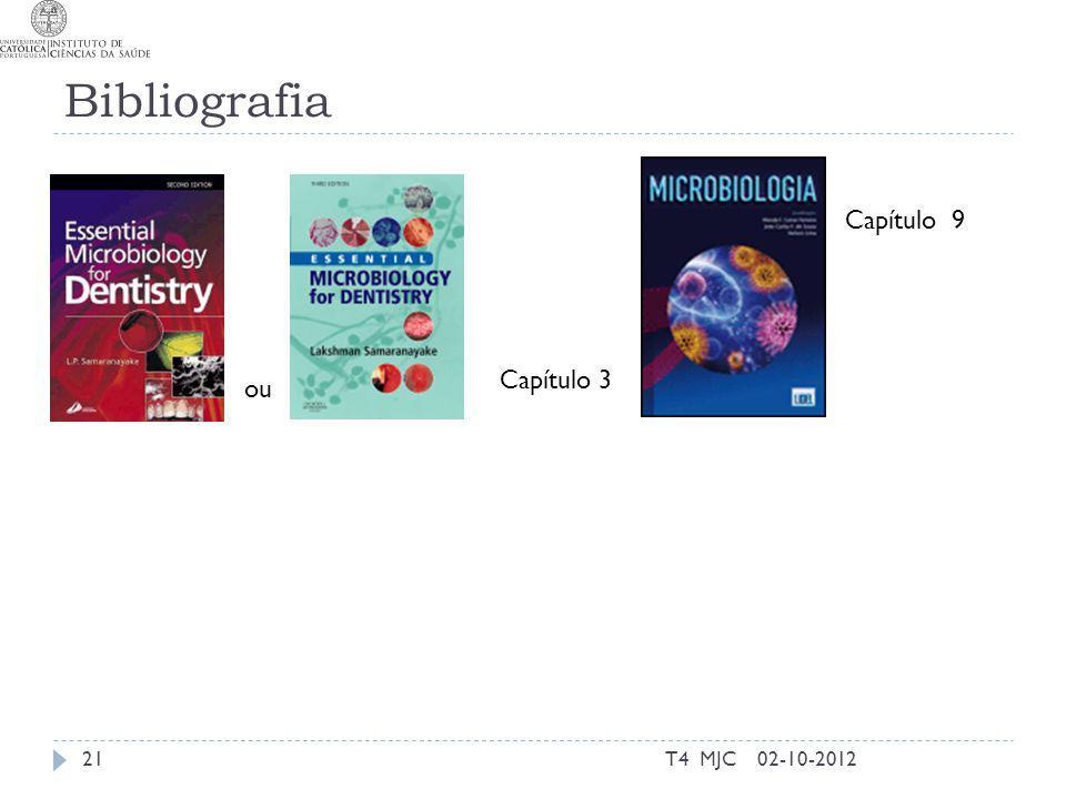 Bibliografia T4 MJC21 Capítulo 3 02-10-2012 ou Capítulo 9