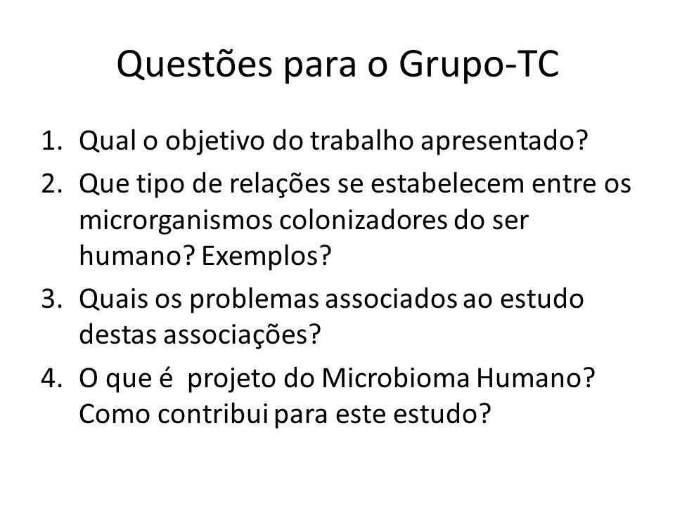 Questões -TC 5.Use a Figura 1 para explicar a estratégia da análise.