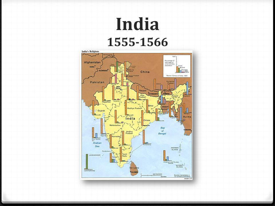 India 1555-1566