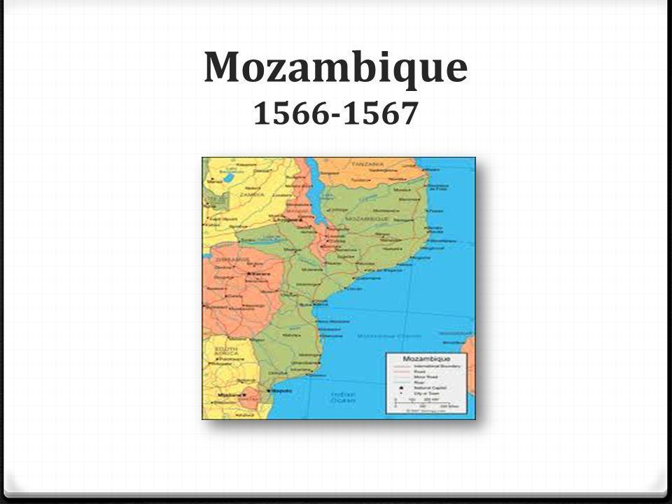 Mozambique 1566-1567