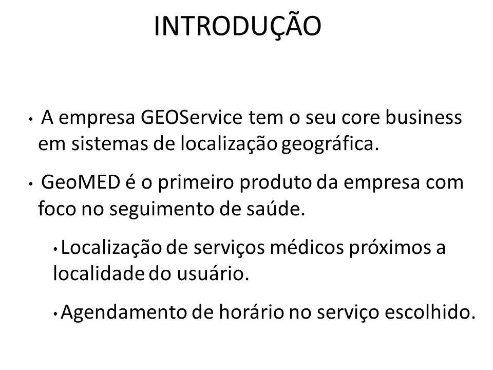 A empresa GEOService tem o seu core business em sistemas de localização geográfica.