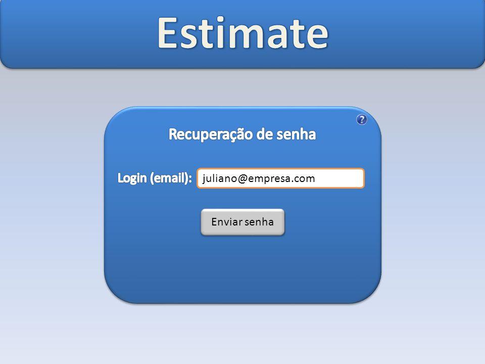 juliano@empresa.com Enviar senha