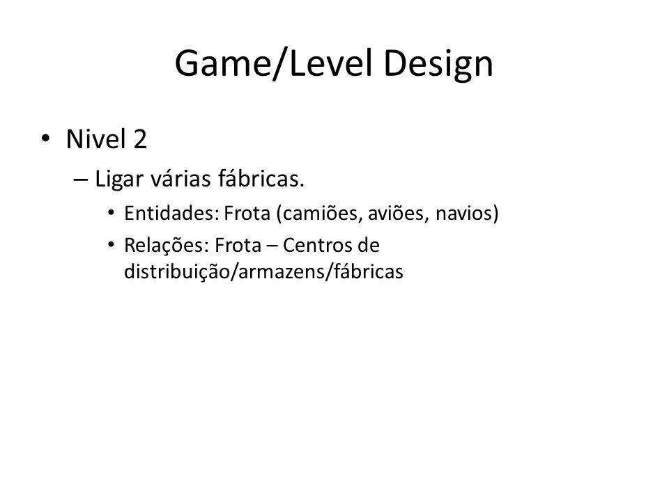 Game/Level Design Nivel 2 – Ligar várias fábricas.