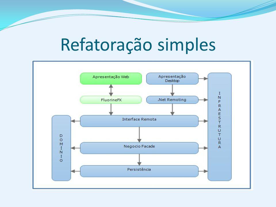 Refatoração simples