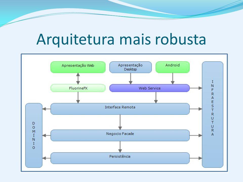 Arquitetura mais robusta
