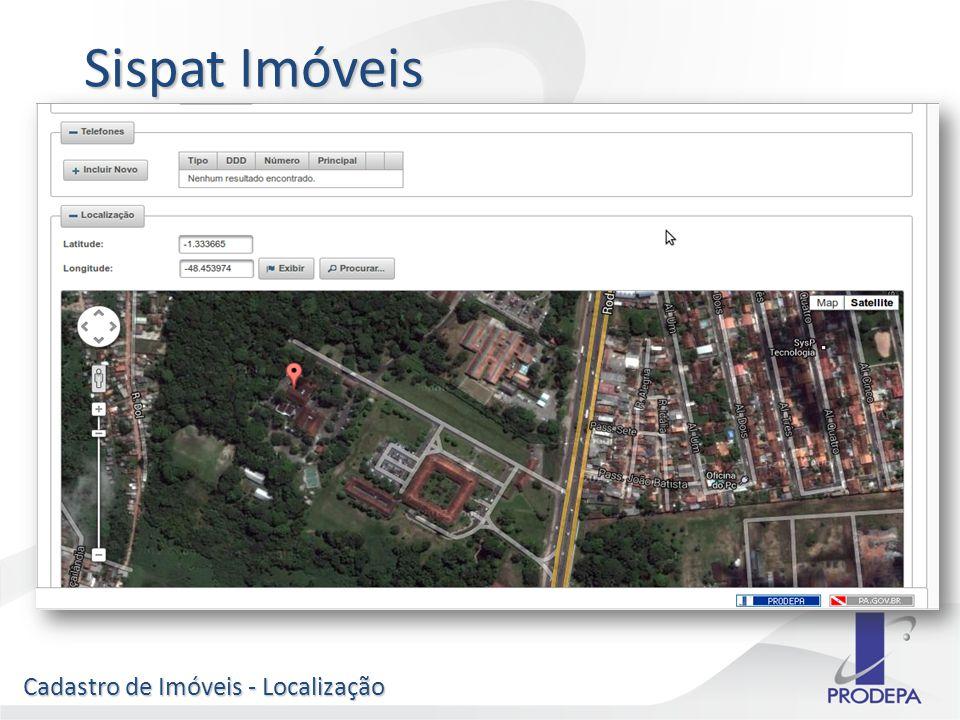 Sispat Imóveis Cadastro de Imóveis - Localização