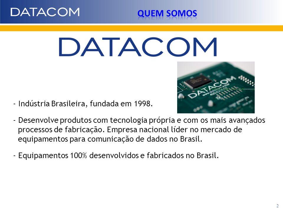 - Indústria Brasileira, fundada em 1998. - Desenvolve produtos com tecnologia própria e com os mais avançados processos de fabricação. Empresa naciona