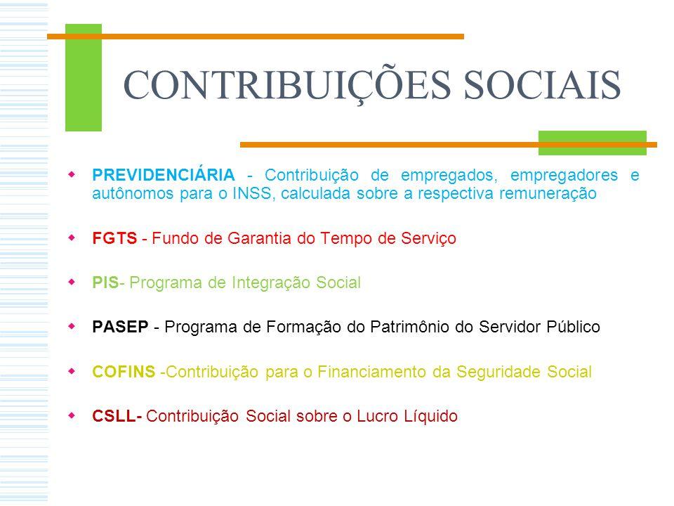 FUNÇÃO SOCIAL DOS TRIBUTOS No conceito de seguridade social estão : - as previdências sociais, - a saúde e - a assistência social
