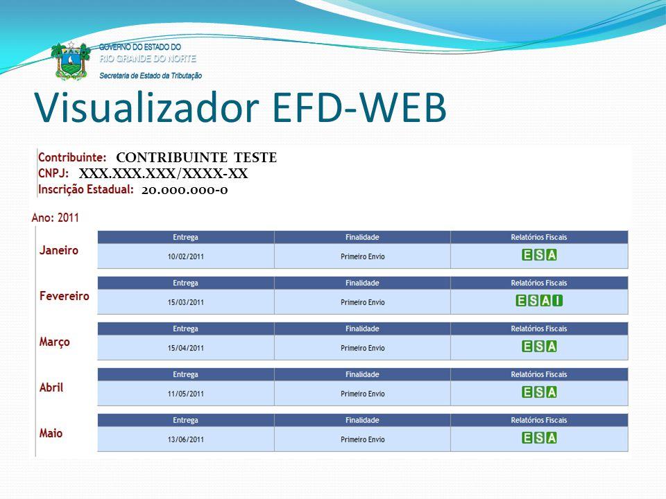 Visualizador EFD-WEB CONTRIBUINTE TESTE XXX.XXX.XXX/XXXX-XX 20.000.000-0