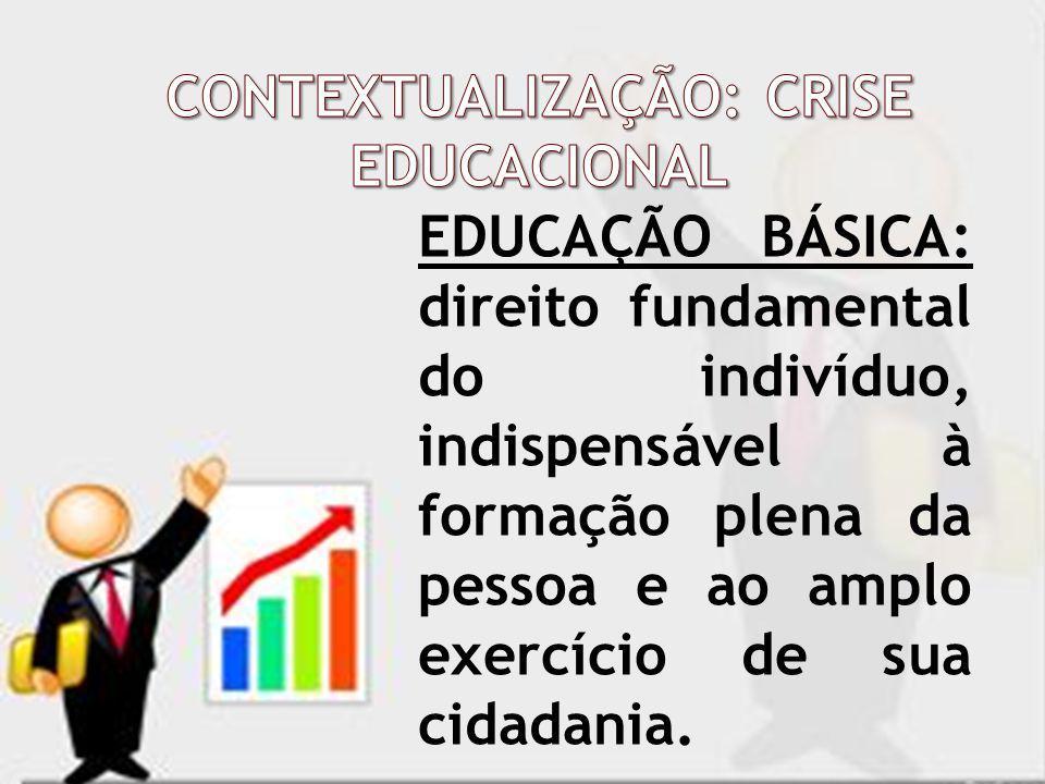 EDUCAÇÃO BÁSICA: direito fundamental do indivíduo, indispensável à formação plena da pessoa e ao amplo exercício de sua cidadania.