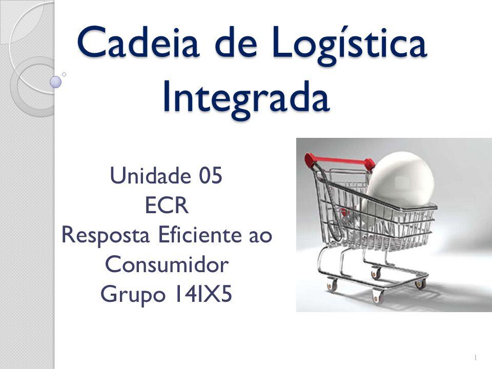Cadeia de Logística Integrada Cadeia de Logística Integrada Unidade 05 ECR Resposta Eficiente ao Consumidor Grupo 14IX5 1