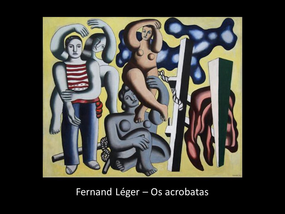 Fernand Léger – Os acrobatas