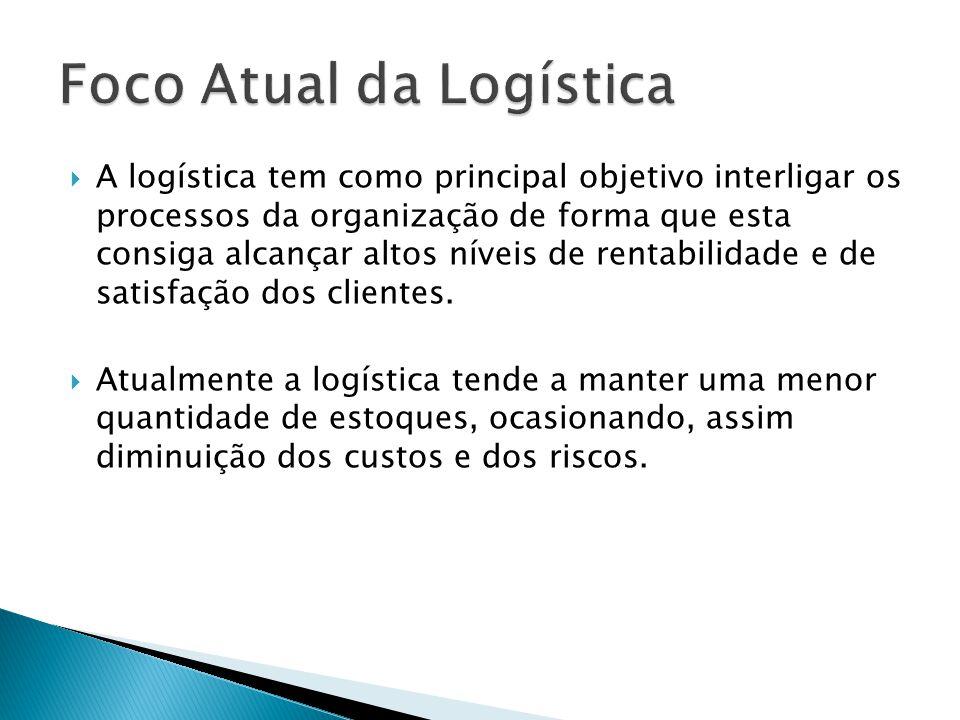 A logística tem como principal objetivo interligar os processos da organização de forma que esta consiga alcançar altos níveis de rentabilidade e de satisfação dos clientes.