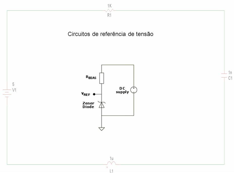 Circuitos de referência de tensão