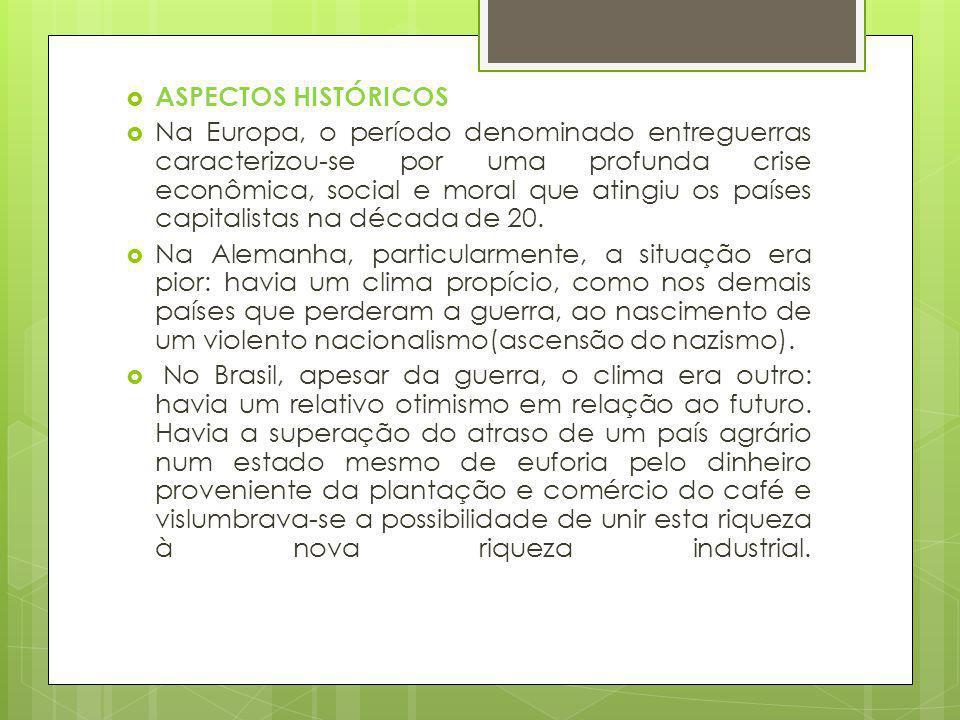 O autor mostra-se suas críticas à burguesia paulistana e à sua mania de tentar ser o que não é ou esconder o que no fundo é.