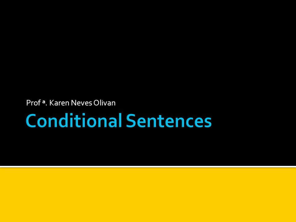 Second Conditionalwere Second Conditional: Usamos were + sujeito.
