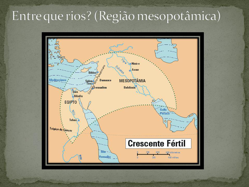 Os principais povos que ocuparam a região da mesopotâmia foram: sumérios, acádios, babilônicos, assírios e os caldeus.