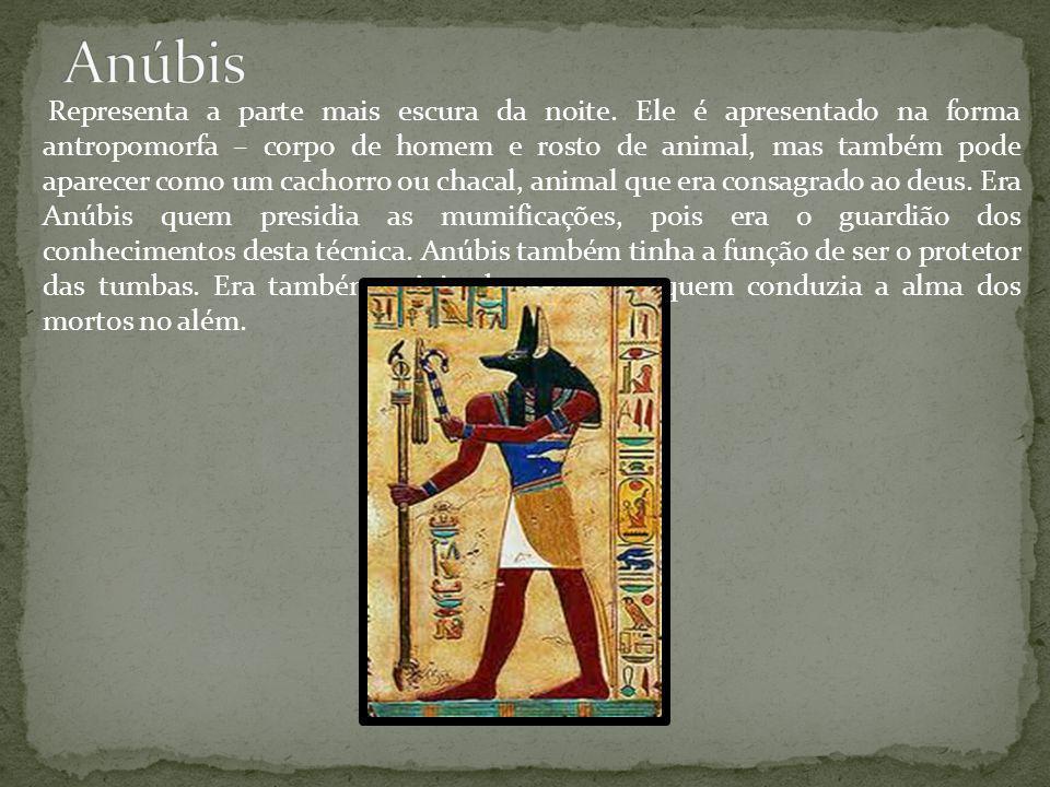 Osíris era um dos mais importantes deuses egípcios pois era associado à vida além da morte e também à vegetação.