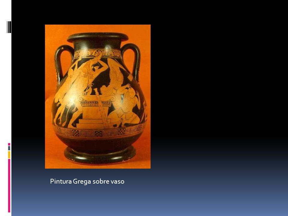 Pintura Grega sobre vaso