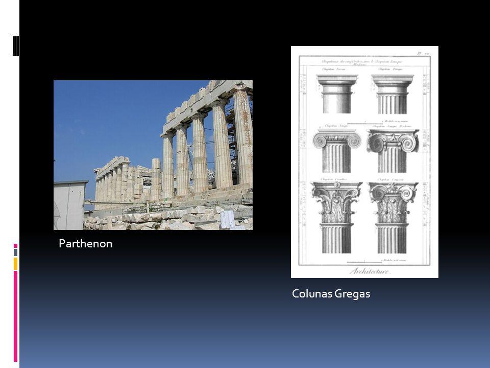 Parthenon Colunas Gregas