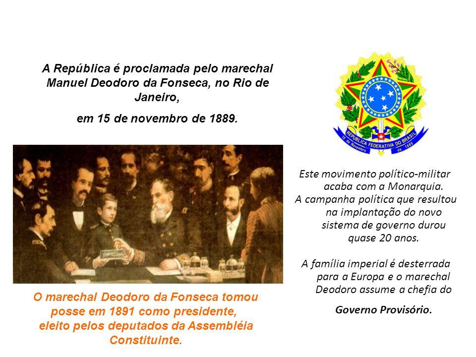 Este movimento político-militar acaba com a Monarquia.