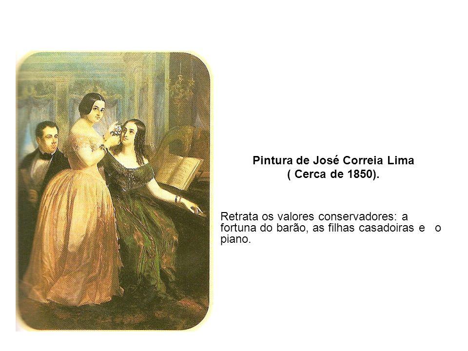 Pintura de José Correia Lima ( Cerca de 1850).