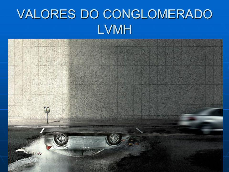 VALORES DO CONGLOMERADO LVMH
