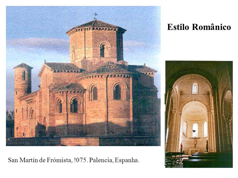 San Martín de Frómista, !075. Palencia, Espanha. Estilo Românico