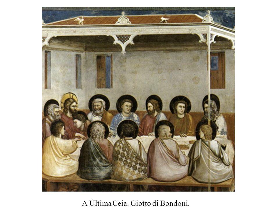 A Última Ceia. Giotto di Bondoni.