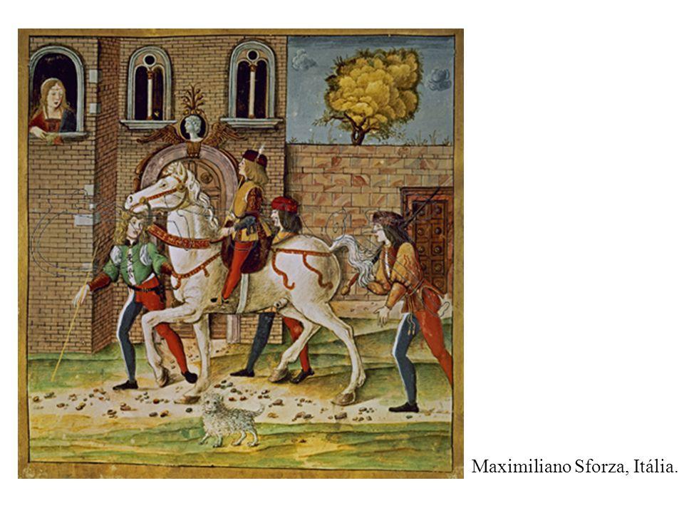Maximiliano Sforza, Itália.