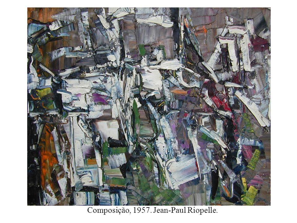 Composição, 1957. Jean-Paul Riopelle.