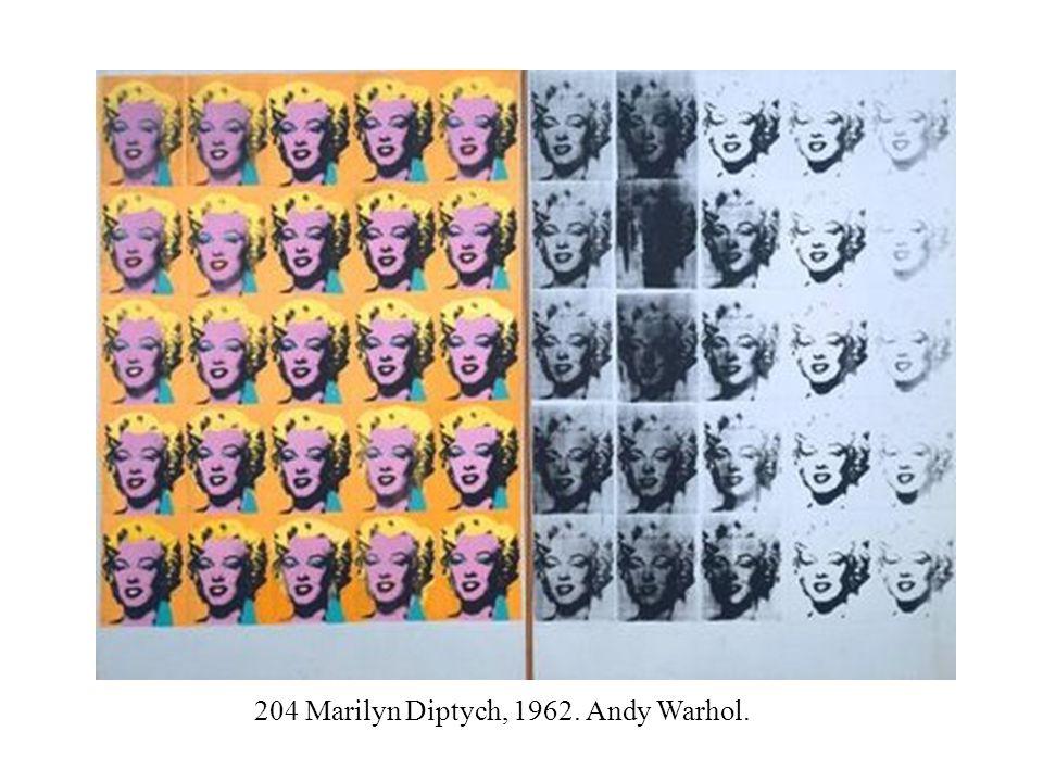 204 Marilyn Diptych, 1962. Andy Warhol.