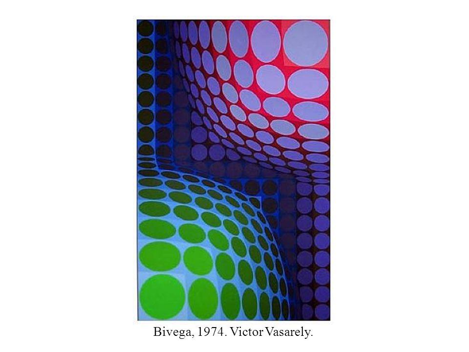 Bivega, 1974. Victor Vasarely.