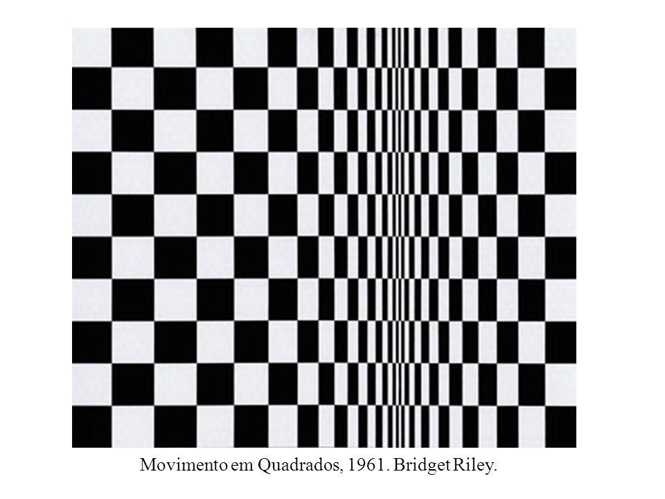 Movimento em Quadrados, 1961. Bridget Riley.