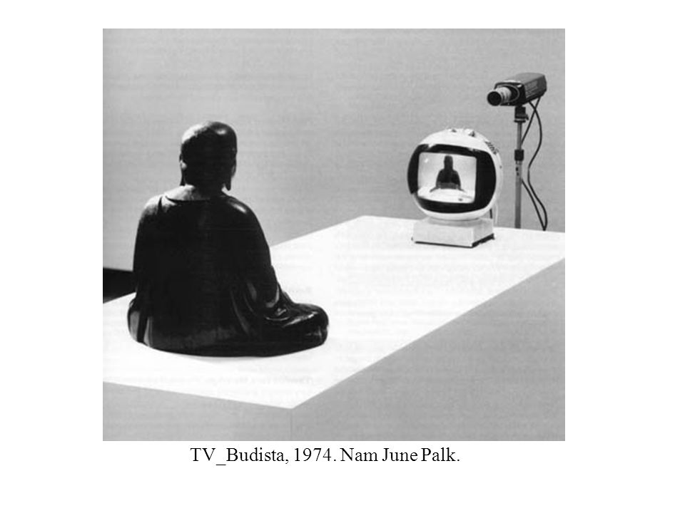 TV_Budista, 1974. Nam June Palk.