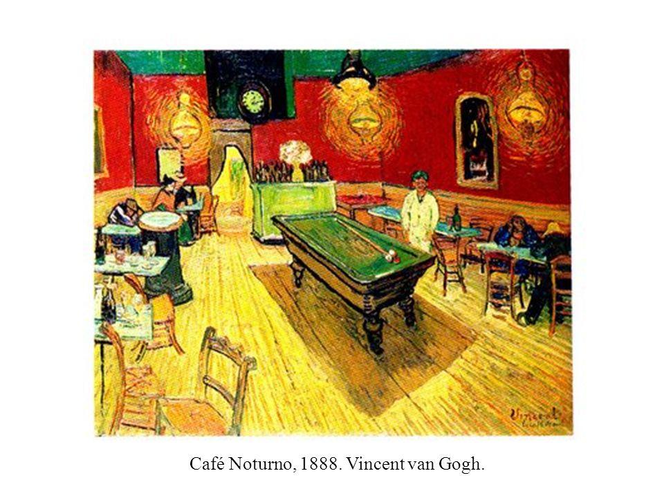 Café Noturno, 1888. Vincent van Gogh.