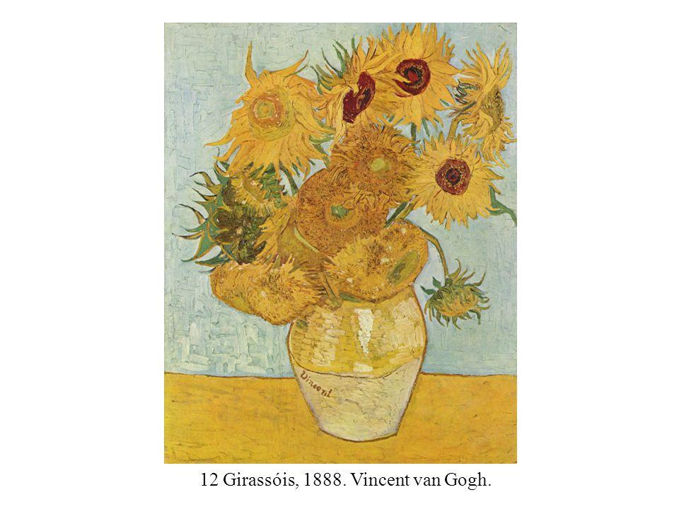 12 Girassóis, 1888. Vincent van Gogh.