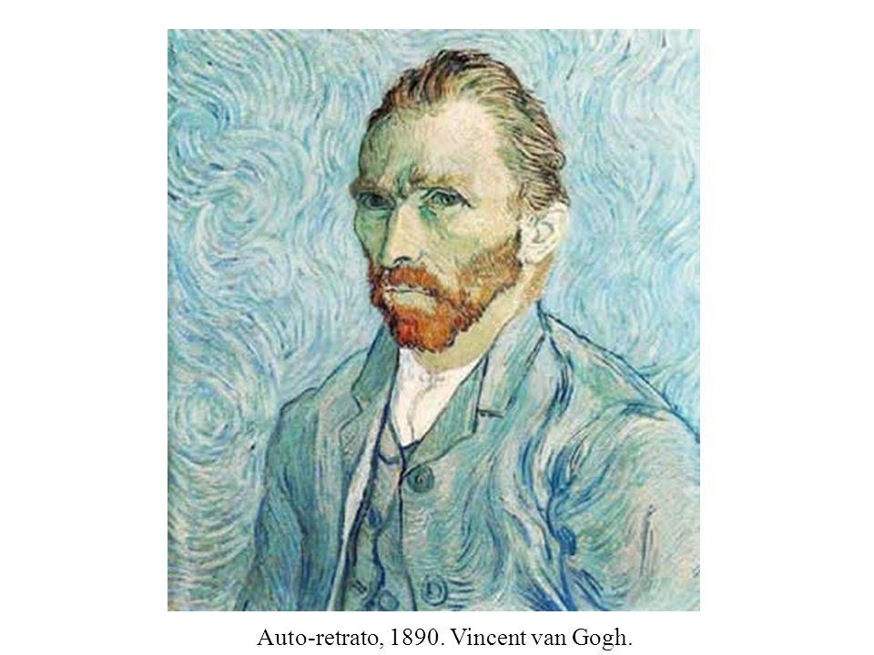 Auto-retrato, 1890. Vincent van Gogh.