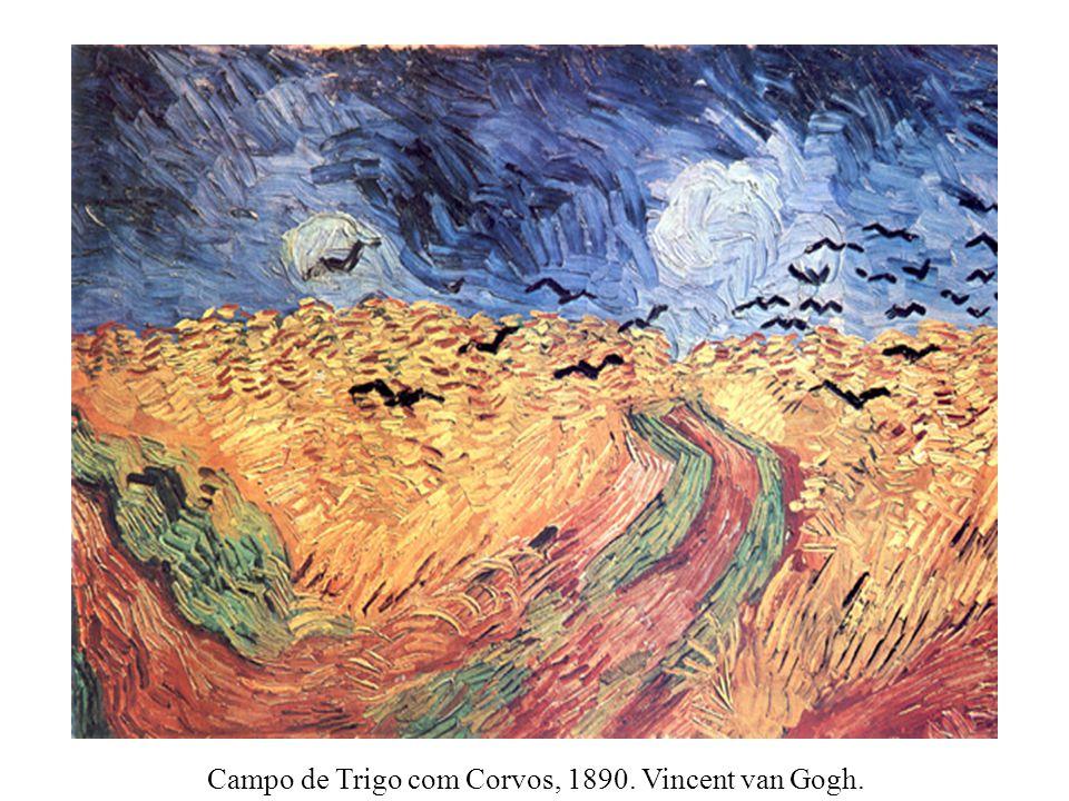 Campo de Trigo com Corvos, 1890. Vincent van Gogh.