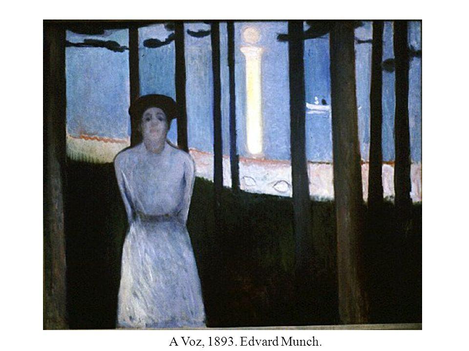 A Voz, 1893. Edvard Munch.
