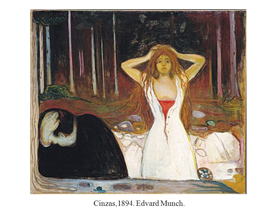 Cinzas,1894. Edvard Munch.