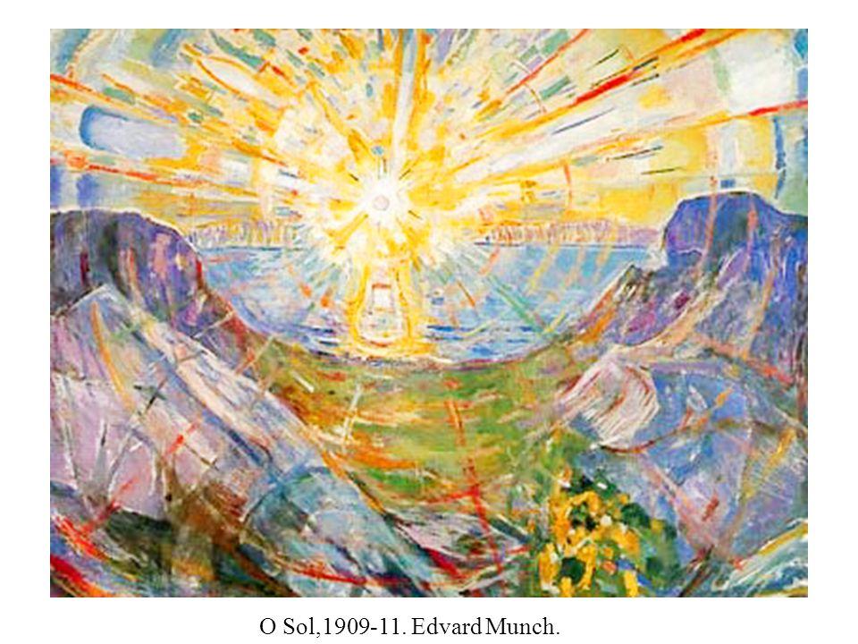 O Sol,1909-11. Edvard Munch.