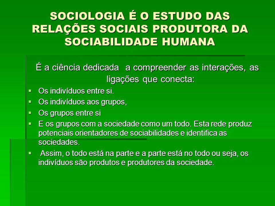 Como se formam as Classes Sociais Positivismo:.