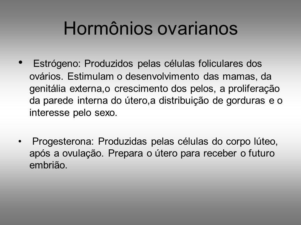 HORMÔNIOS FEMININOS