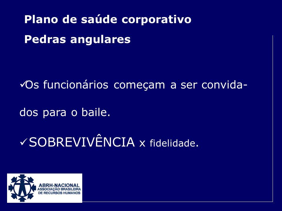 Plano de saúde corporativo Pedras angulares A negociação empresa x operadora, ganha novos contornos.