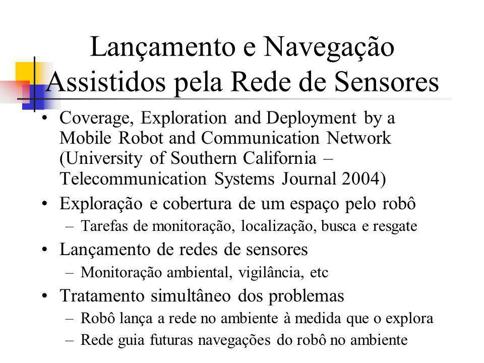 Lançamento e Navegação Assistidos pela Rede de Sensores Coverage, Exploration and Deployment by a Mobile Robot and Communication Network (University o