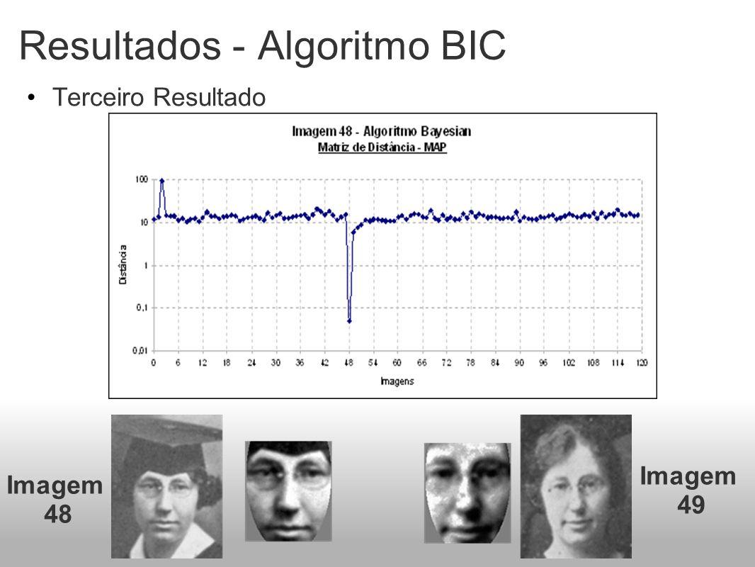 Resultados - Algoritmo BIC Terceiro Resultado Imagem 48 Imagem 49