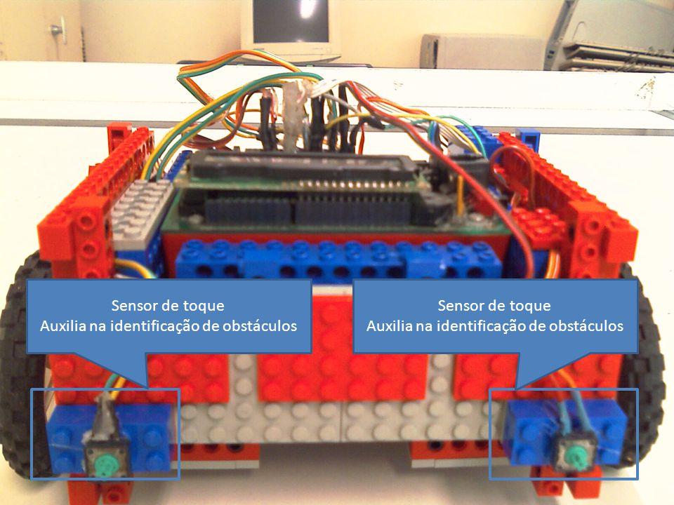 Sensor de toque Auxilia na identificação de obstáculos Sensor de toque Auxilia na identificação de obstáculos