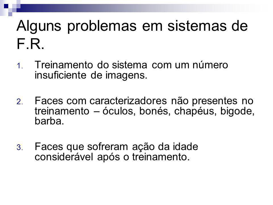 Alguns problemas em sistemas de F.R.1.