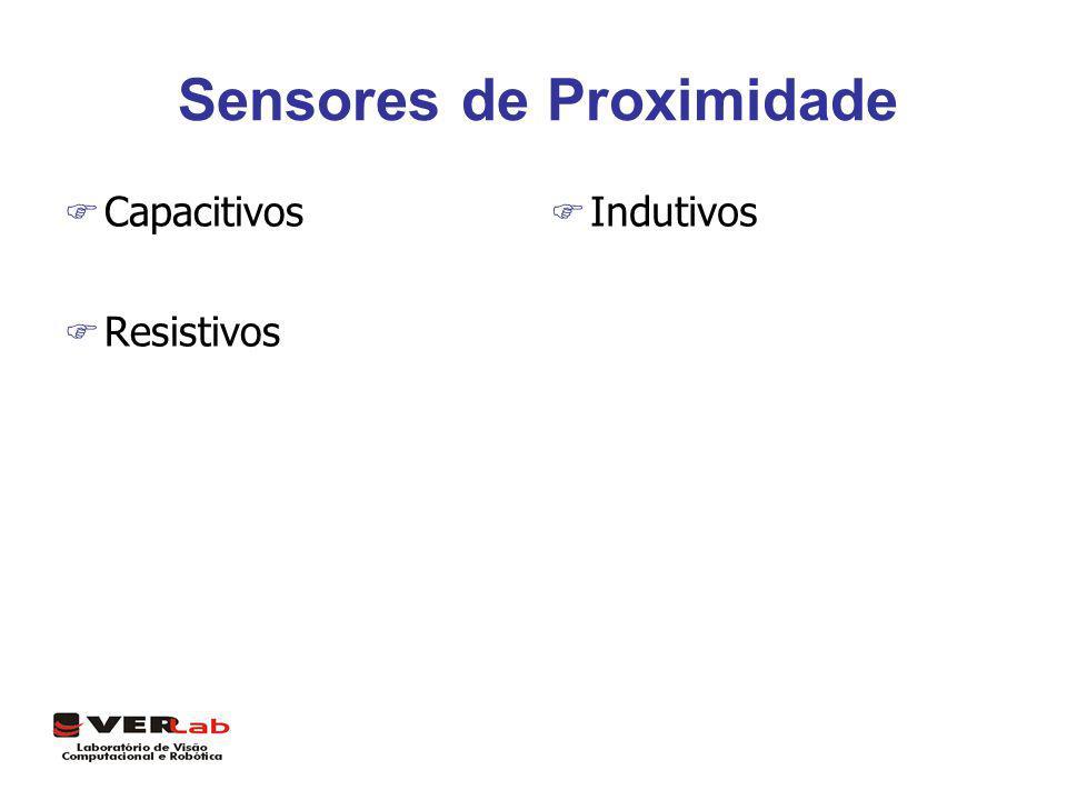 Sensores de Proximidade F Capacitivos F Resistivos F Indutivos